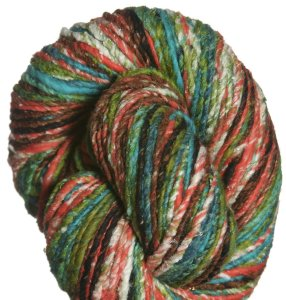 Noro Furisode Yarn - 11 Greens, Orange, Black