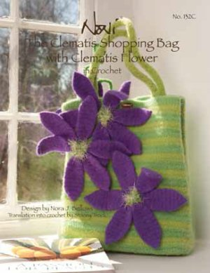 Noni Patterns - zThe Clematis Shopping Bag in Crochet Pattern