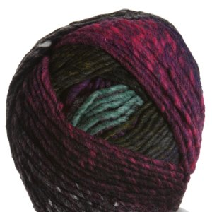 Noro Hitsuji Yarn - 01 Black, Hot Pink, Green
