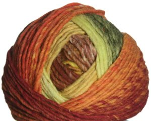 Noro Hitsuji Yarn - 04 Yellow, Orange, Green