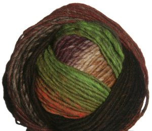 Noro Hitsuji Yarn - 06 Brown, Beige, Wine