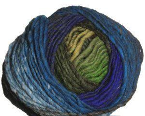 Noro Hitsuji Yarn - 07 Green, Blue, Olive