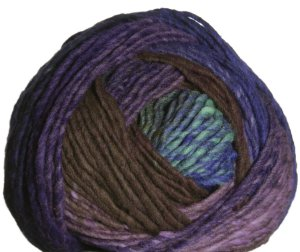 Noro Hitsuji Yarn - 09 Purple, Green, Brown
