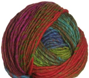 Noro Hitsuji Yarn - 10 Blue, Orange, Lime