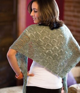 Nelkin Designs Patterns - Tourmaline Shawl Pattern