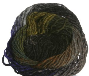 Noro Kureyon Yarn - 283 Black/Royal Purple/Hunter/Indigo (Discontinued)