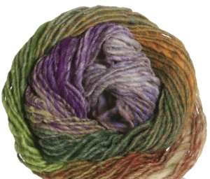 Noro Kureyon Yarn - 287 Plum/Greens/Marigold/Brown (Discontinued)