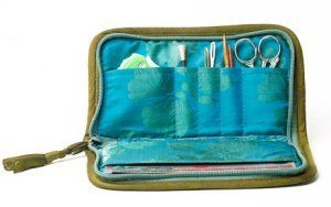Lantern Moon First Aid Kit - Turquoise/Olive (Discontinued)