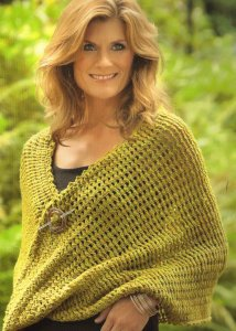 Dream in Color Smooshy Tunisian Crochet Wrap Kit - Crochet for Adults