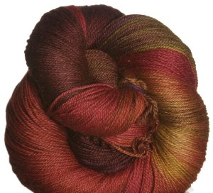 SweetGeorgia Tough Love Sock Yarn - Autumn Flame (Discontinued)