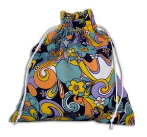 della Q Eden Cotton Project Bag (115-2) - 085 Whimsical Garden