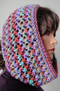 Crystal Palace Chunky Mochi Lace Cowl Kit - Scarf and Shawls