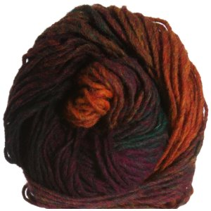 Noro Kureyon Yarn - 128 - Wine/Hunter/Orange (Discontinued)