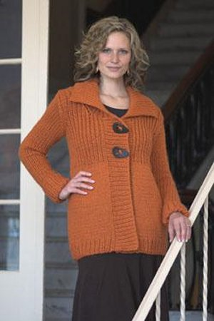 Plymouth Sweater & Pullover Patterns - 2092 Woman's Jacket Pattern