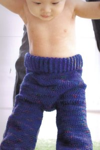 Mountain Colors Rivertwist Cute Patootie Pants Kit - Crochet for Kids