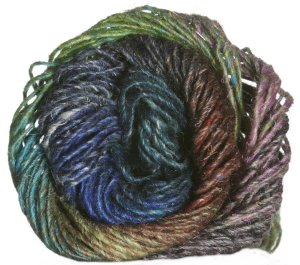 Noro Silk Garden Yarn - 320 Blues, Teals, Bark, Raspberry (Discontinued)