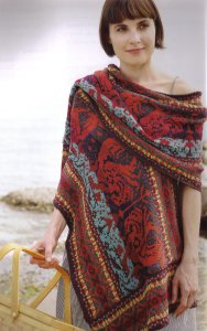 Classic Elite Chesapeake Dragon Shawl Kit - Scarf and Shawls