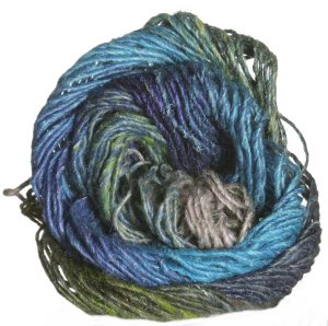 Noro Silk Garden Yarn - 337 Blues, Greens, Pinks (Discontinued)