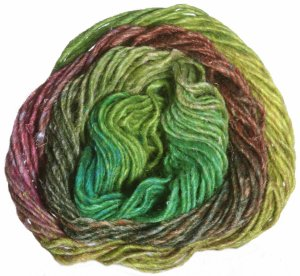 Noro Silk Garden Yarn - 338 Lemon, Lime, Copper, Forest