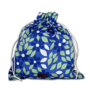 della Q Eden Cotton Project Bag (115-2) - 087 Forget Me Not