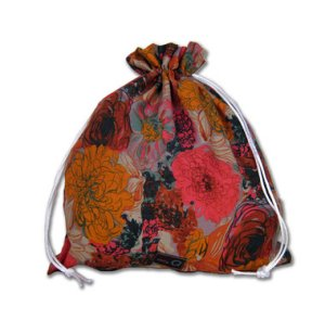 della Q Eden Cotton Project Bag (115-2) - 089 Bouquet (Discontinued)