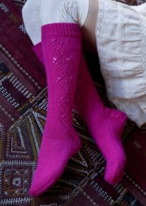 Stitch Nation Washable Ewe Sweetheart Stockings Kit - Socks