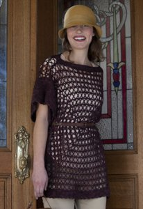 Madelinetosh Pashmina Nantahala Tunic Kit - Crochet for Adults