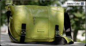 Namaste Mini Messenger - Lime