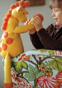 Cascade 220 Superwash Giraffe  Kit - Baby and Kids Accessories