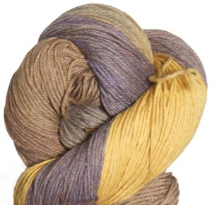 Queensland Collection Haze Yarn - 2 Mocha Purple Mustard