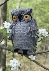 Cascade 220 Heathers Hooter Kit - Crochet for Home