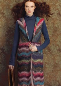 Noro Silk Garden Long Vest Kit - Vests