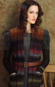 Noro Kureyon Hooded Vest Kit - Vests