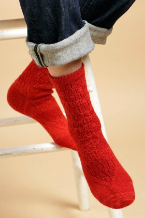 Shibui Patterns - Minaret Socks Pattern