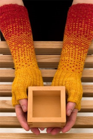 Shibui Patterns - Transition Gloves Pattern