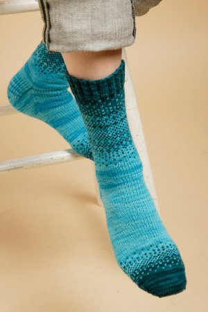 Shibui Patterns - Transition Socks Pattern