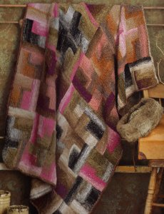 Noro Taiyo Patchwork Afghan Kit - Home Accessories