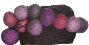 Be Sweet Bubble Ball Yarn - Wild Berries - Dark Blue Plum