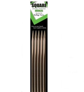 "Kollage Square Double Pointed Needles - US 5 (3.75mm) - 6"" Needles"