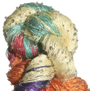 Artyarns Beaded Silk & Sequins Light Yarn - 171 w/Silver