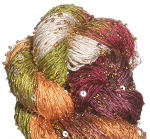 Artyarns Beaded Silk & Sequins Light Yarn - 1023 w/Gold