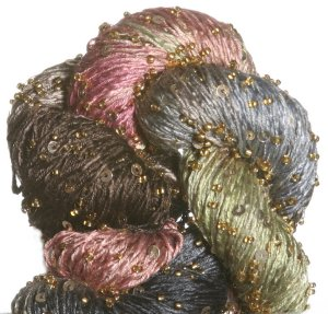 Artyarns Beaded Silk & Sequins Light Yarn - 1022 w/Gold