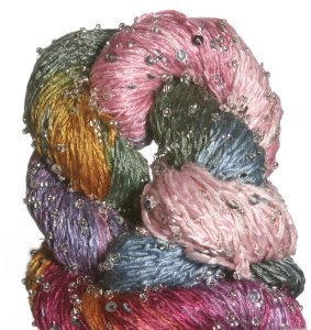 Artyarns Beaded Silk & Sequins Light Yarn - 1015 w/Silver
