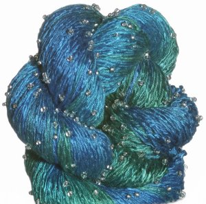 Artyarns Beaded Silk Light Yarn - H26 w/Silver