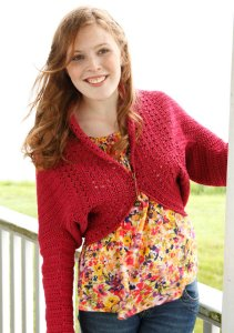 Berroco Weekend Betty Shrug Kit - Crochet for Adults