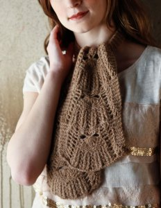 Berroco Flicker Gurie Scarf Kit - Scarf and Shawls
