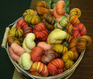 Koigu Oddball 2/6 Merino Grab Bags - Oranges, Yellows