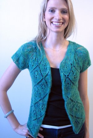 Artyarns Patterns - I207 Ethereal Cashmere Cardigan Pattern