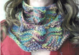 Artyarns Patterns - E205 Faux Entrelac Cowl Pattern