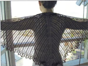 Artyarns Patterns - E212 Boleyn Shawl Pattern